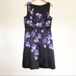ModCloth Adrianna Papell Floral Dress - 14